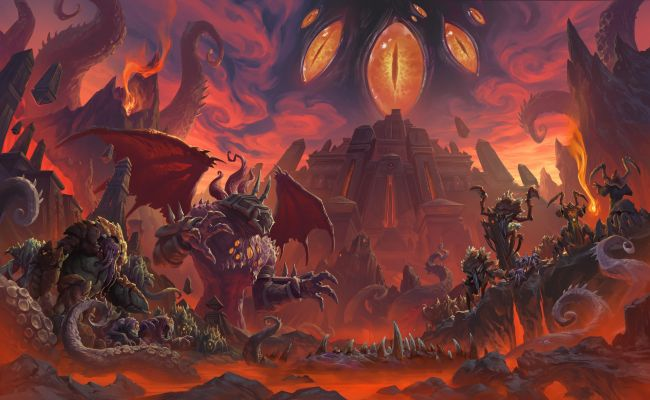 Blizzard o WoW: Battle for Azeroth - Visions of N'Zoth