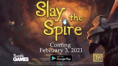 Slay the Spire | Android Release Date Trailer