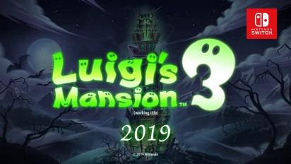 Luigi's Mansion 3 - Announcement Trailer