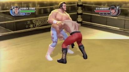 WWE All Stars - Honky Tonk Man DLC - Finisher Trailer