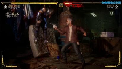 Mortal Kombat 11 - Terminator T-800 vs Sub-Zero Gameplay