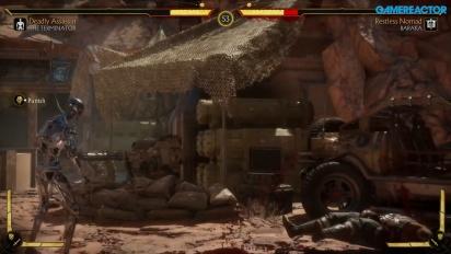 Mortal Kombat 11 - Terminator T-800 Endoskeleton Gameplay