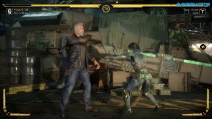 Mortal Kombat 11 - Terminator T-800 vs Jade Gameplay