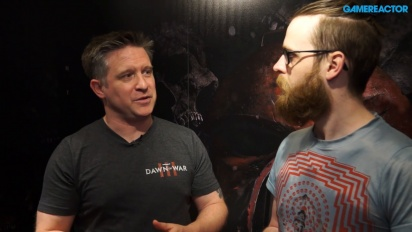 Warhammer 40,000: Dawn of War 3 - Brent Disbrow Interview