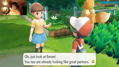 Pokémon: Let's Go Eevee! - nagranie z livestreamu