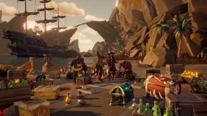 Sea of Thieves - Steam Release Date Trailer