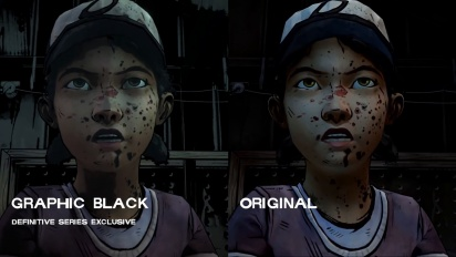 Walking Dead Definitive Series - Graphic Black Teaser