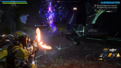 Anthem - Tripple Threat Demo Gameplay on PC
