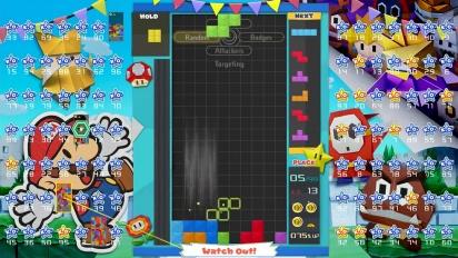 Tetris 99 - 15th MAXIMUS CUP Gameplay Trailer