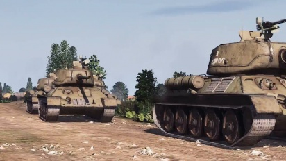 Steel Division 2 - Announcement In-Engine Trailer