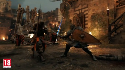 For Honor: The Black Priors -  Gameplay Trailer