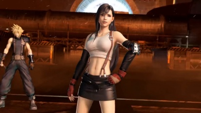 Dissidia Final Fantasy NT - Tifa Lockhart Reveal