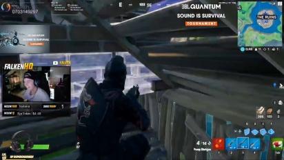 JBL Quantum Sound is Survival Tournament - Fortnite Livestream Highlights