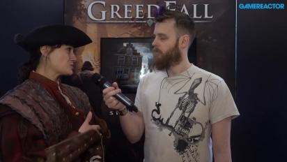 Greedfall - Jehanne Rousseau Interview