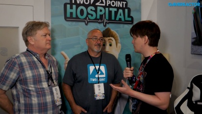 Two Point Hospital - Gary Carr & Mark Webley Interview