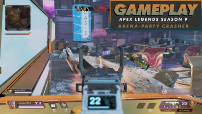 Apex Legends Season 9 - Arenas (Party Crasher) - Gameplay