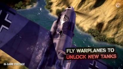 World of Tanks & World of Warplanes - Unified Account Trailer