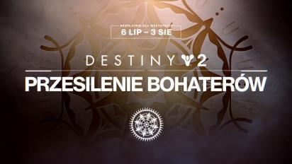 Destiny 2: Sezon Bezkresnej Nocy – zwiastun Przesilenia Bohaterów [PL]