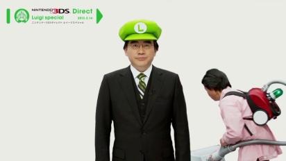 Luigi's Mansion 2 - Nintendo Direct Luigi Special Clip