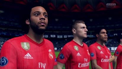 FIFA 19 - Gameplay z Nintendo Switch: Juventus vs Real Madryt