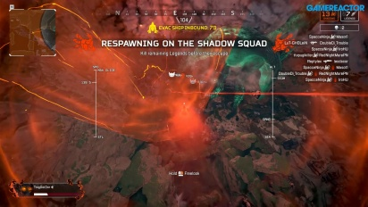 Apex Legends: Fight or Fright - Close Shadow Loss Gameplay