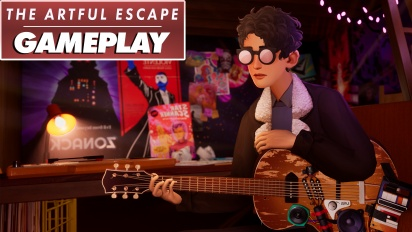 The Artful Escape - Gameplay
