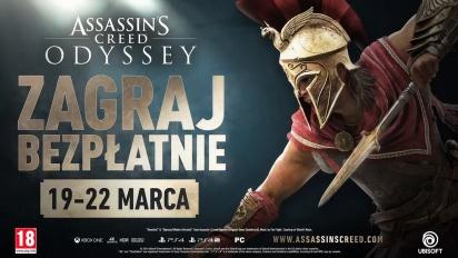 Assassin's Creed Odyssey - zwiastun bezpłatnego weekendu