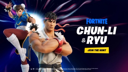 Fortnite - Legendary Fighters Ryu and Chun-Li Arrive Through the Zero Point