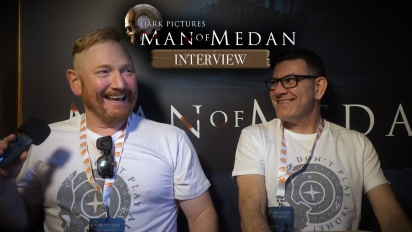 The Dark Pictures Anthology: Man of Medan - Pete Samuels and Gareth Betts Interview