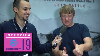 Wargaming - Victor Kislyi Gamescom 2019 Interview