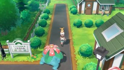 Pokémon: Let's Go Pikachu!/Let's Go Eevee! - Venusaur Follower Clip