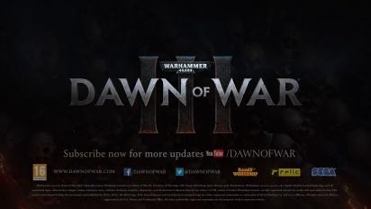 Warhammer 40,000: Dawn of War 3 - Prophecy of War Trailer