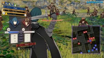 Fire Emblem: Three Houses - Battle Gameplay