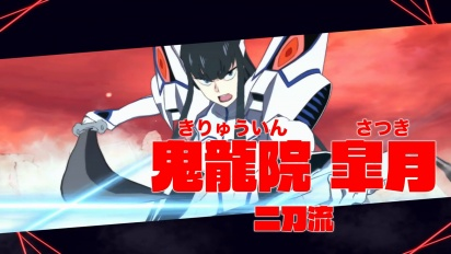 Kill la Kill the Game: IF - Satsuki Kiryuuin Character Trailer