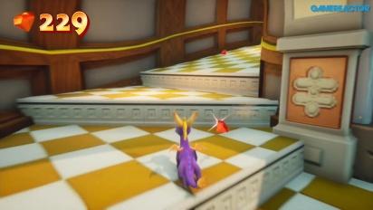 Spyro Reignited Trilogy - Sunny Villa Gameplay (Switch)