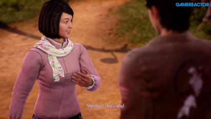 Shenmue III - Exploration Gameplay