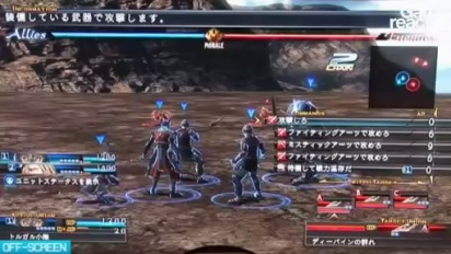 TGS08: The Last Remnant Gameplay