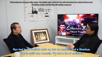 Shenmue III - Special Interview  Then, Now and Tomorrow
