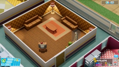 Two Point Hospital - Interior Designer Free Update Overview