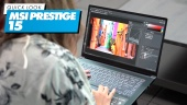 MSI Prestige 15 - Quick Look