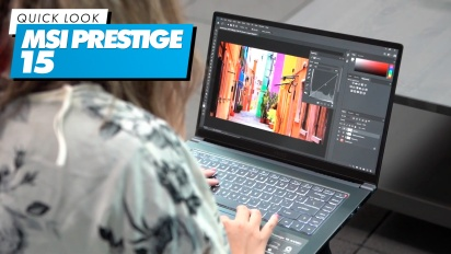 MSI Prestige 15 - Quick Look