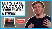 Quick Look - Lenovo ThinkPad X1 Extreme
