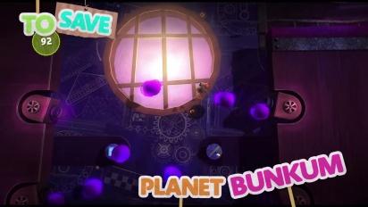 Little Big Planet 3 - Save Planet Bunkum Trailer