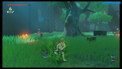 The Legend of Zelda: Breath of the Wild DLC 1 - Gameplay Trial of the Sword