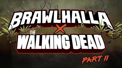 Brawlhalla x The Walking Dead - Negan & Maggie Reveal Trailer