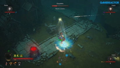 Diablo III: Eternal Collection - rozgrywka z lokalnego trybu wieloosobowego