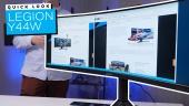 Lenovo Legion Y44W - Quick Look