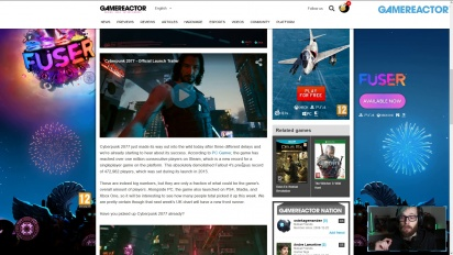 GRTV News - Cyberpunk 2077 Breaks Concurrent Player Records
