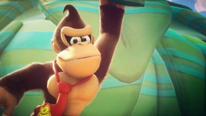 Mario + Rabbids Kingdom Battle - Introducing Donkey Kong