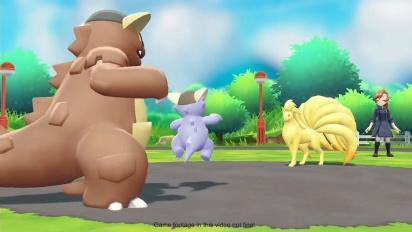 Pokémon: Let's Go Pikachu!/Let's Go Eevee! - Mega Kangaskhan and Mega Gyarados Trailer